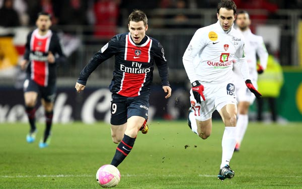 Brest-Vs-Paris Saint Germain-Championnat-image