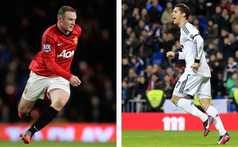 Real Madrid Vs Manchester United-Champions League-image