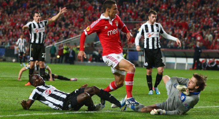 Newcastle Vs Benfica-Uefa Europa League-image